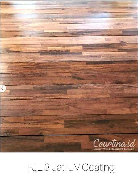 Gambar Kanopi Kayu Minimalis  indoor flooring fjl 3 jati uv coating courtina luxury wood