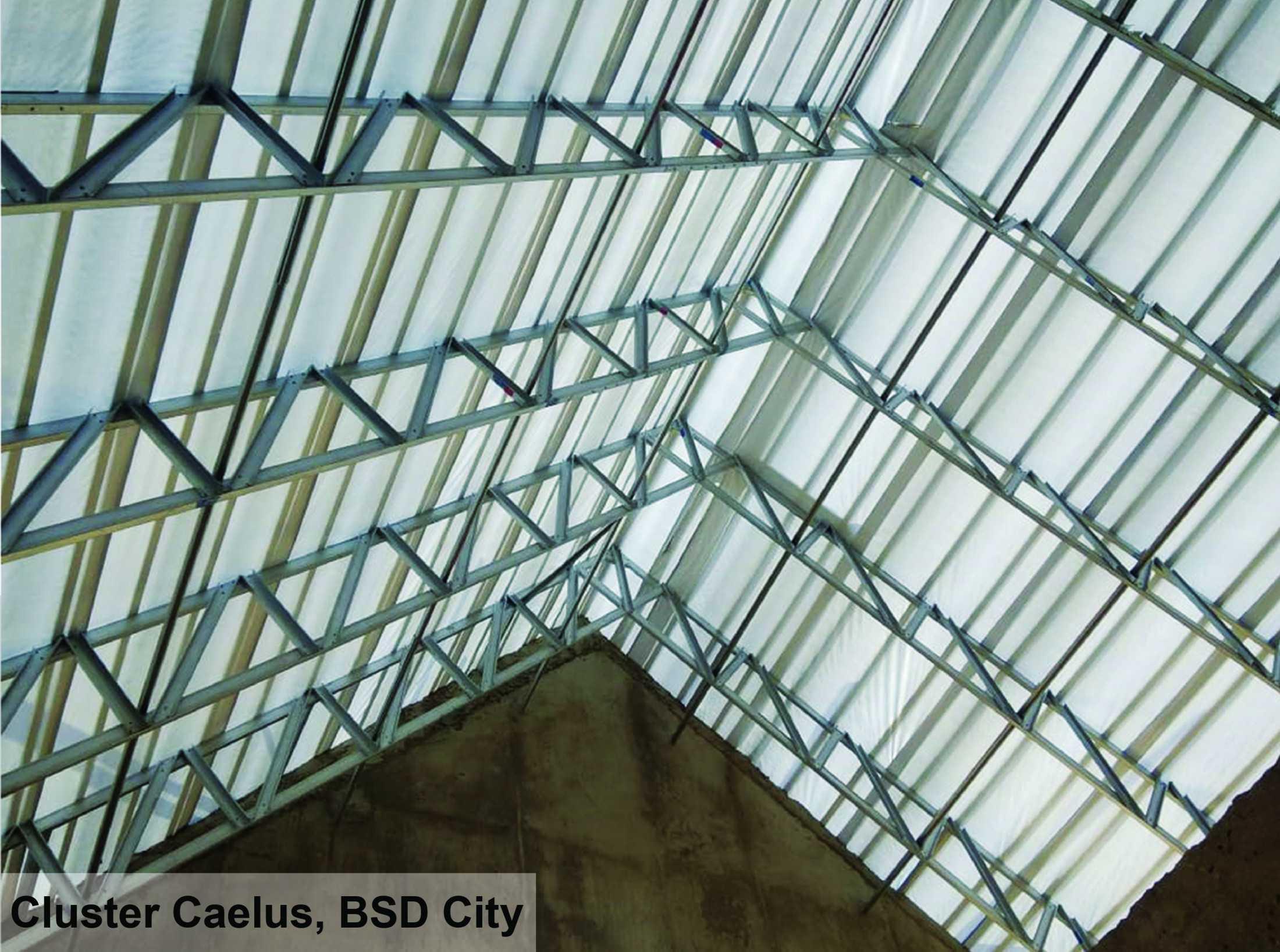 Metal Structures Rangka Atap Baja Ringan Truss Karang Pilang