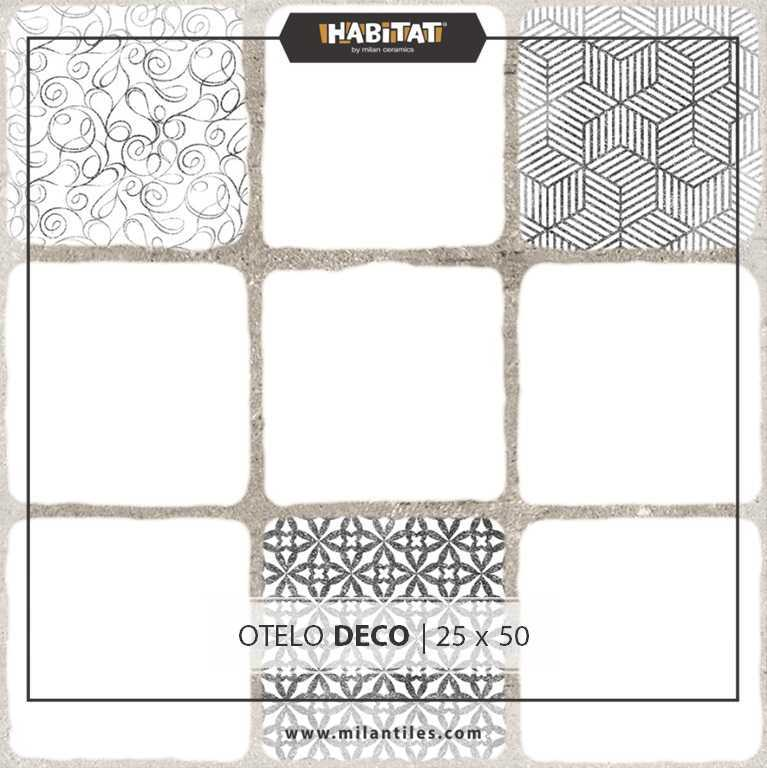 Variasi Otelo Bianco  FinishesWall CoveringWall Tiles 1