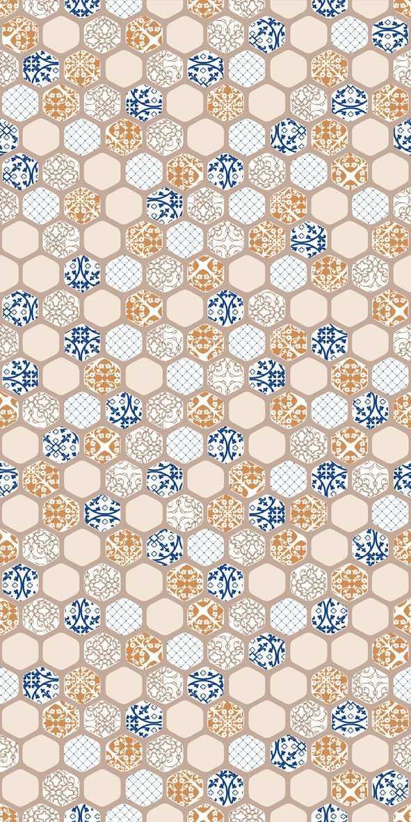 Variasi Honey Blu  FinishesWall CoveringWall Tiles 3