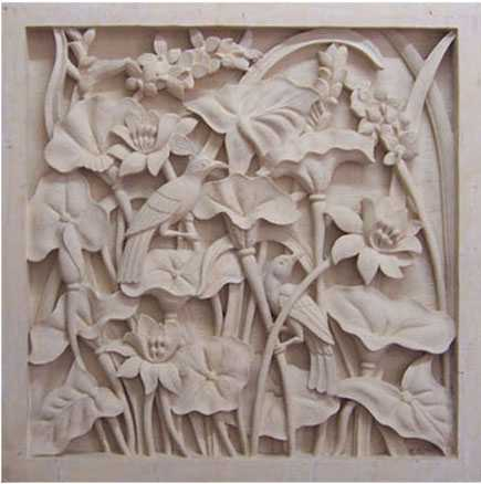 Bali Carvings Stone Relief DécorHome DecorationsWall Decor Items