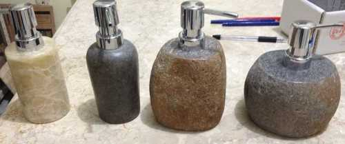 Foto produk  Dispenser Soap River Stone For Hotel di Arsitag