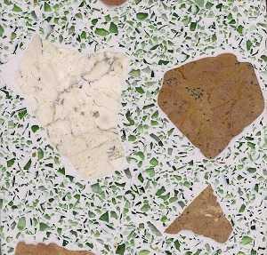 Foto produk  Teraso Resin - White Terramix 05 di Arsitag