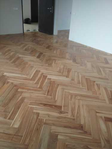 Foto produk  Jati Flooring Uv Finished - Graha Famili di Arsitag