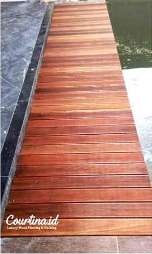 Foto produk  Bengkirai Decking Pu Finished Lebak Bulus di Arsitag