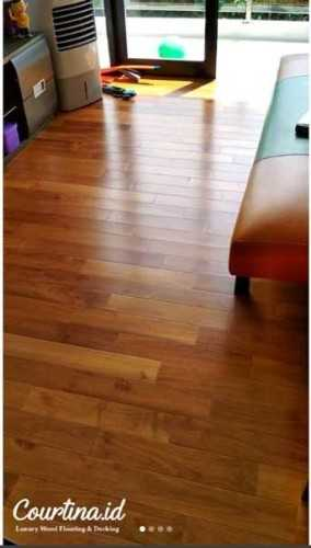 Foto produk  Jati Flooring Uv Finished - Project Mr. H Residence di Arsitag