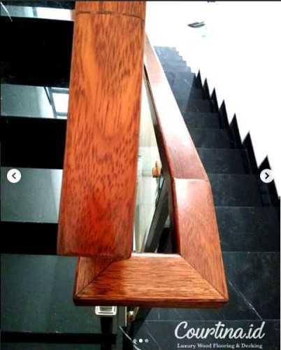 Foto produk  Handrail Merbau Pu Finished -Project Mr. By di Arsitag