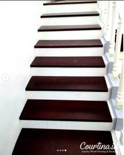 Foto produk  Merbau Kayu Solid Staircase - Project Mr. Rn di Arsitag