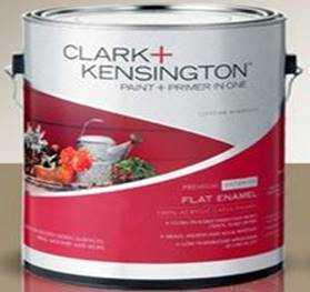 Foto produk  Clark + Kensington Exterior Flat Ultra White Gl di Arsitag