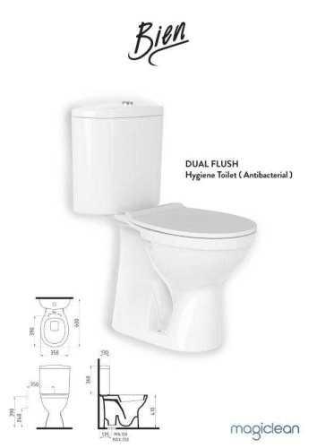 Foto produk  Bien Dual Flush Hygiene Toilet di Arsitag
