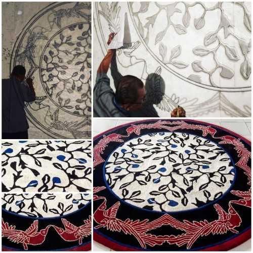Foto produk  Handtufted Carpet di Arsitag