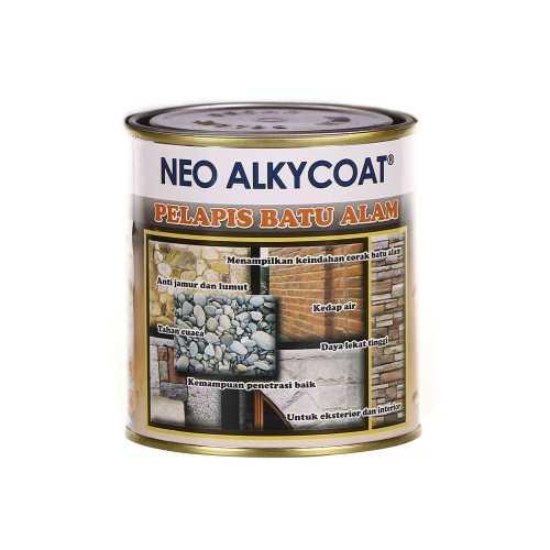 Foto produk  Alkycoat - Neo Alkycoat Cat Pelapis Batu Alam 0.9 Liter di Arsitag