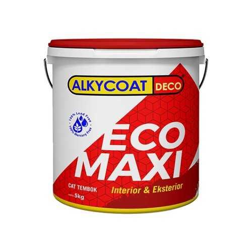 Foto produk  Alkycoat - Cat Tembok Interior Anti Jamur Alkycoat Deco Eco Maxi 5 Kg di Arsitag
