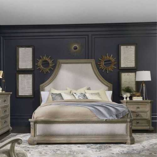 Foto produk  Arch Salvage Bryce Uph King Bed With 2 Nightstand di Arsitag