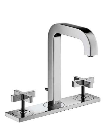 Foto produk  Axor Citterio - 3-Hole Basin Mixer With Cross Handle Comfort Zone 170 Projection 140Mm di Arsitag