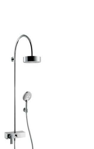 Foto produk  Axor Citterio - Showerpipe With Single Lever Mixer And 1Jet Overhead Shower di Arsitag