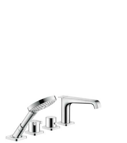 Foto produk  Axor Citterio E - 4-Hole Rim Mounted Thermostatic Bath Mixer Projection 190 Mm di Arsitag