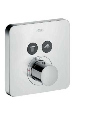 Foto produk  Axor Citterio E - Softcube Thermostatic Mixer Concealed Installation, 2 Outlets  di Arsitag