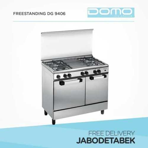 Foto produk  Gas Freestanding Domo 90Cm Dg 9406 (4 Burners) di Arsitag