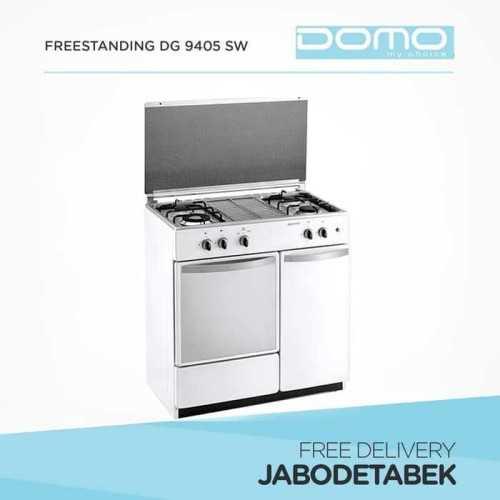 Foto produk  Gas Freestanding Domo 85Cm Dg 9405 Sw (4 Burners)  di Arsitag