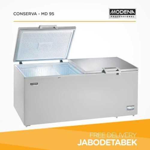 Foto produk  Chest Freezer Modena 950 Liter Conserva - Md 95 (600 Watt) di Arsitag