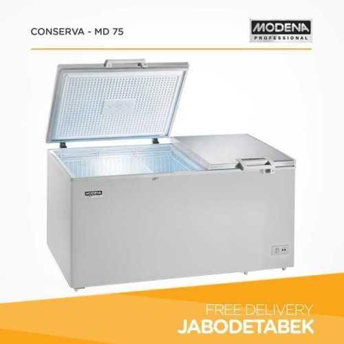 Foto produk  Chest Freezer Modena 750 Liter Conserva - Md 75 (360 Watt) di Arsitag