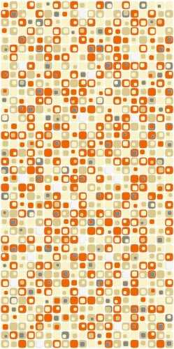 Beads Orange FinishesWall CoveringWall Tiles