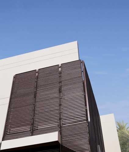 Foto produk Fences And Perimeter Enclosures Conwood Decorative-Sunshade di Arsitag