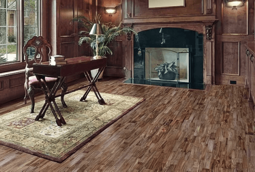 Engineered Floor-Albizia Stained Walnut 3 Strip Furniture