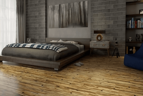 Foto produk  Engineered Floor-Albizia Astral Black di Arsitag