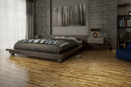 Foto produk  Engineered Floor-Albizia Astral White di Arsitag