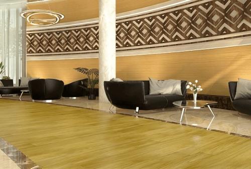 Engineered Floor-Linggua Yellow 1 Strip Furniture