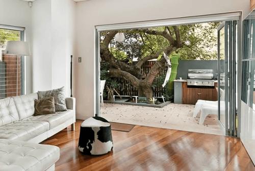 Engineered Floor-Linggua Red Herringbone Furniture