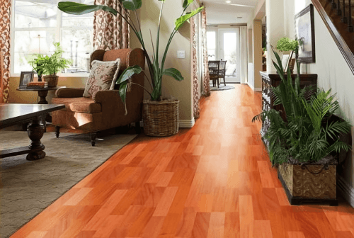 Foto produk  Engineered Floor-Mahogany Stained Red 2 Strip di Arsitag