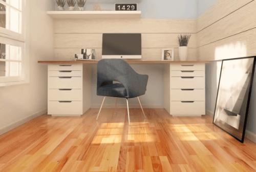 Foto produk  Engineered Floor-Mahogany Natural 3 Strip di Arsitag