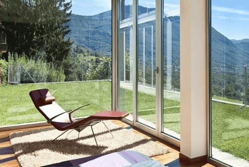 Engineered Floor-Mahogany Stained Red Herringbone Furniture