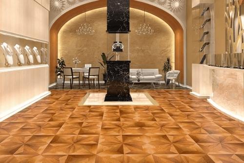 Engineered Floor-Merbau Mystique Star Furniture
