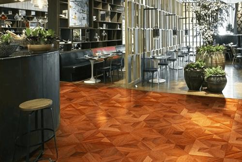 Engineered Floor-Merbau Milan Furniture