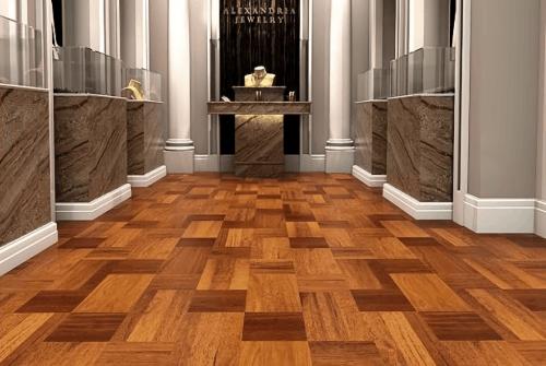 Engineered Floor-Merbau Interweave Furniture