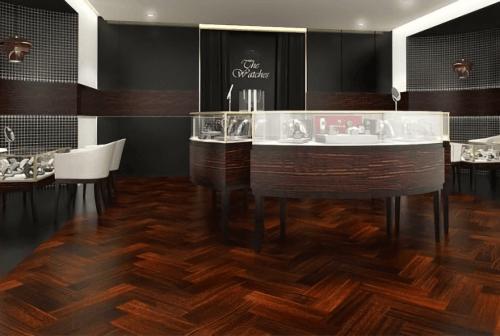 Engineered Floor-Simpur Herringbone Furniture