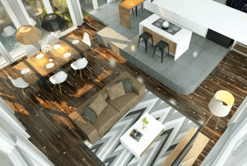Engineered Floor-Sonokeling Astral Furniture