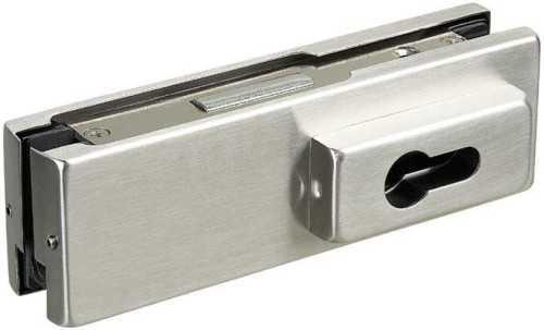Foto produk  Glass Door Corner Patch Lock Suits Euro Profile Cylinder di Arsitag