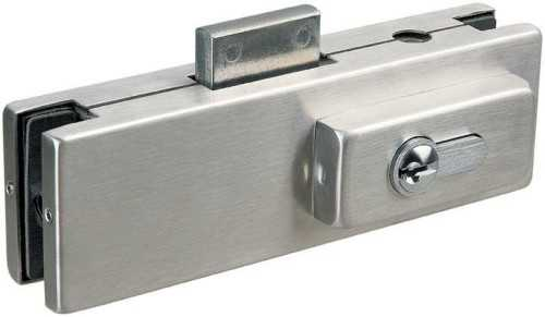 Foto produk  Glass Door Centre Patch Lock Suits Euro Profile Cylinder di Arsitag